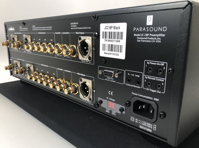 Parasound Halo JC 2 BP Preamp - Complete and Almost New (1 of 2)