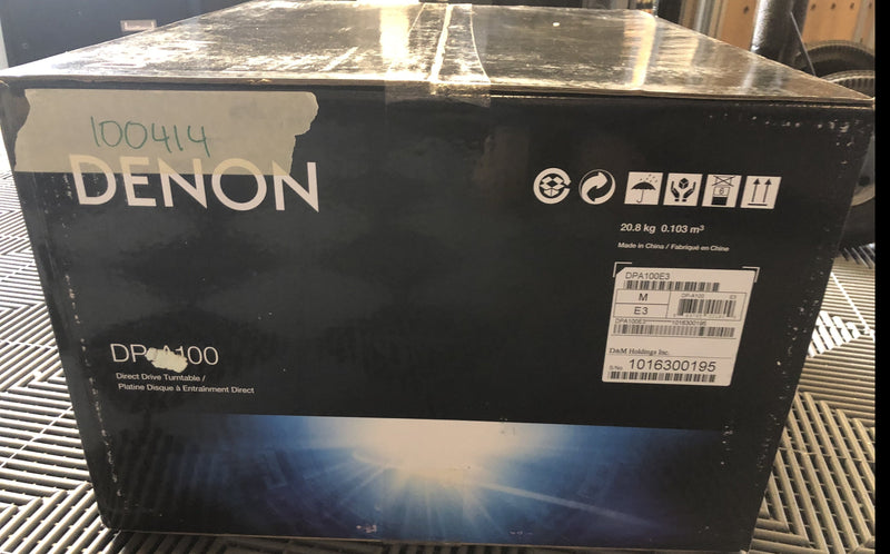 Denon DP-A100 - 100th Anniversary Limited Edition Turntable NEW - Sealed Box - Very Rare