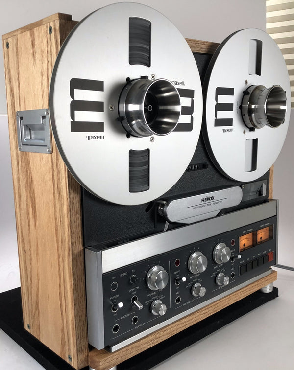 ReVox B77 MK1 Custom Stereo Reel to Reel Tape Recorder