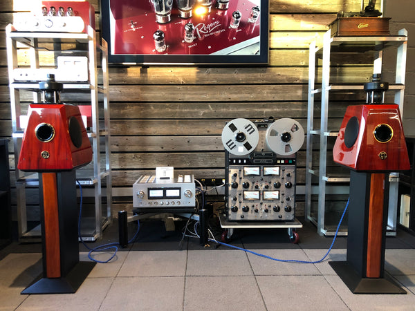 MBL 121 Radialstrahler Speakers - with Stands and Crates