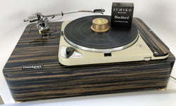 Custom Thorens TD-124 for Sean - No Tonearm