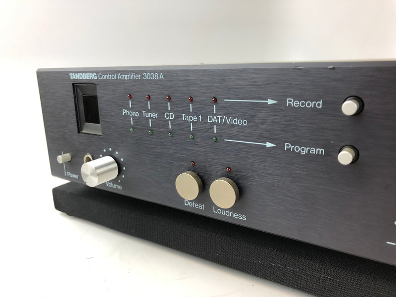 Tandberg TCA-3038a Solid State Preamp with Phono, Made in Norway
