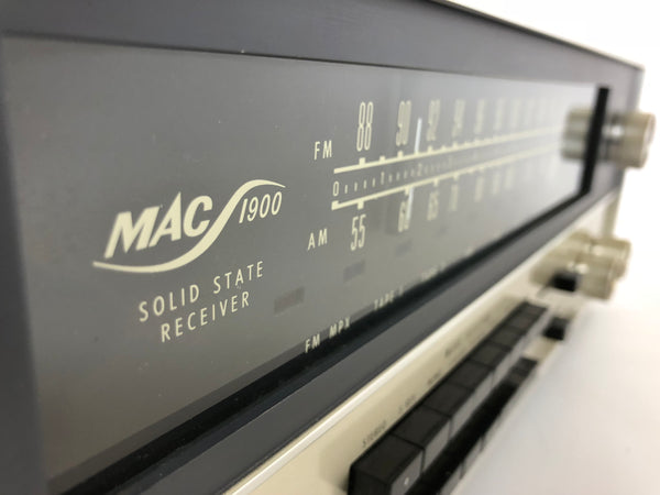 McIntosh MAC-1900 AM/FM Solid State Vintage Receiver - Near Mint