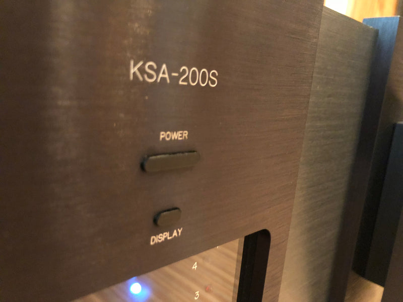 Krell KSA-200S 200W Solid State Amplifier, Just Serviced and Perfect