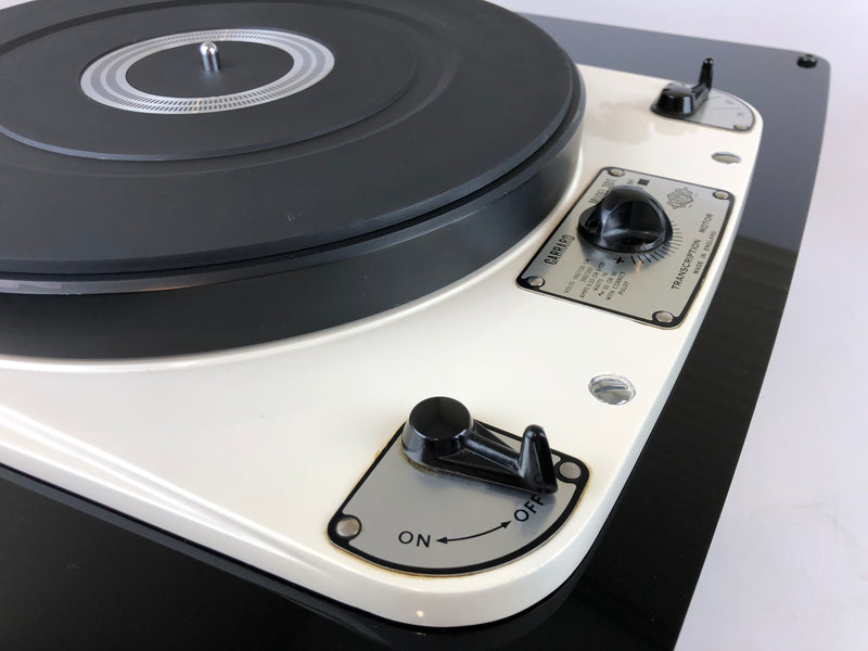 Garrard 301 Custom Vintage Turntable with Pro-Ject Carbon Fiber Arm and Sumiko Cartridge
