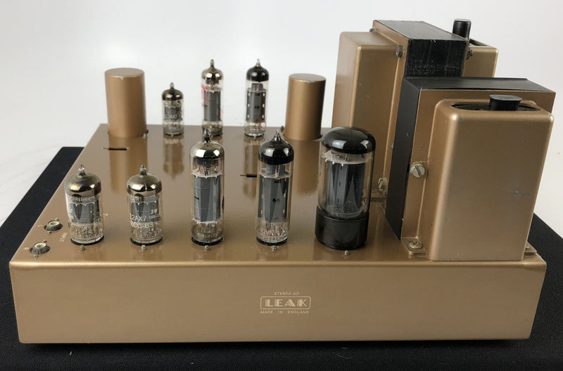 Leak Stereo 20 Vintage Tube Amplifier made in the UK