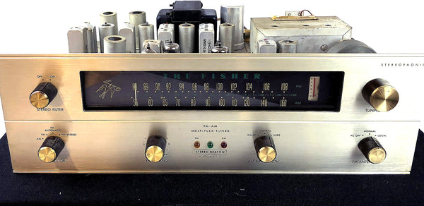 Fisher R-200 FM-AM Multiplex Stereo Tuner, All Tube Classic and Collectible