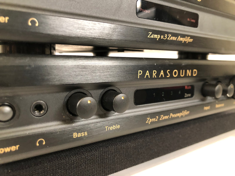 Parasound Zpre2 - Stereo Zone Preamp with Remote