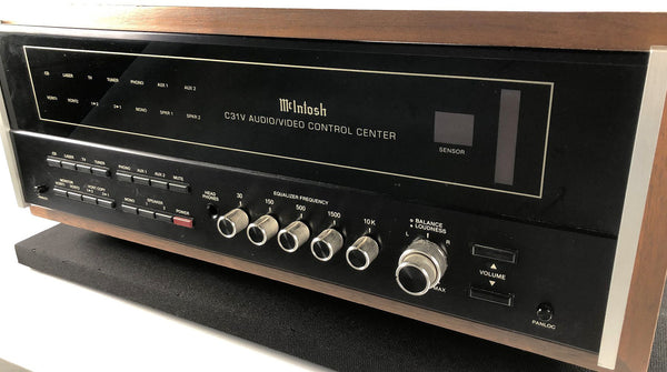 McIntosh C31V Preamp with Phono - Includes Remote, Wood Case, and Manual