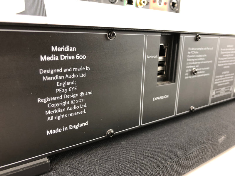 Meridian Sooloos Control 15 Music Server with Meridian Media Drive 600 (4TB Storage)