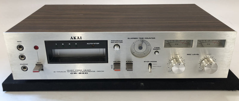 Akai CR-83D 8-Track Tape Player - Cool Retro Piece!