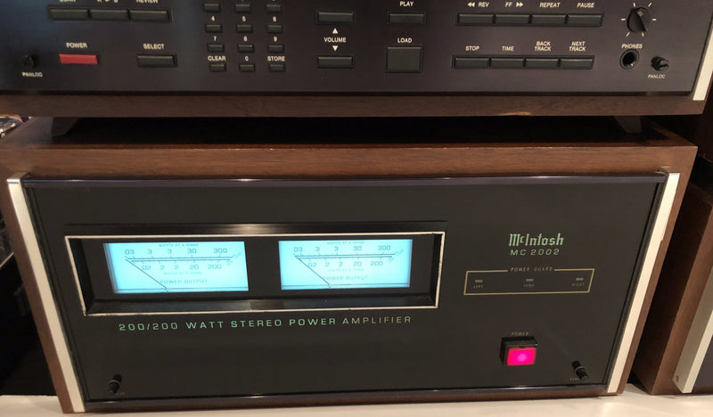 Complete McIntosh Four Piece System In Wood Cases