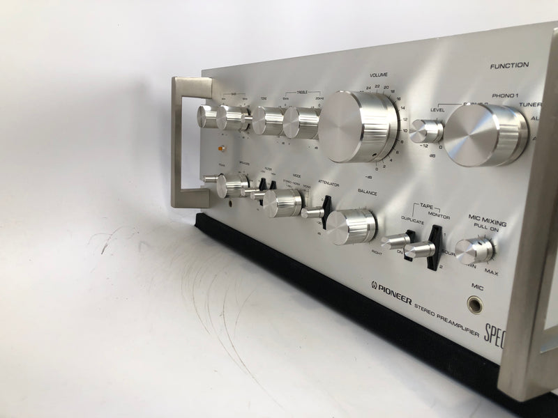 Pioneer SPEC-1 Vintage Solid State Stereo Preamp with Phono (B)