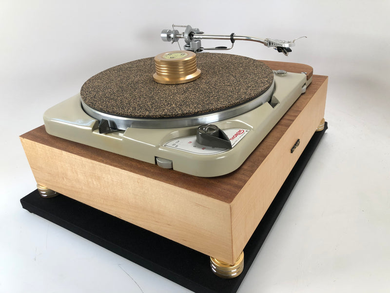 Thorens TD-124 with Thorens Plinth and Restored SME3009 - Completely Customizable