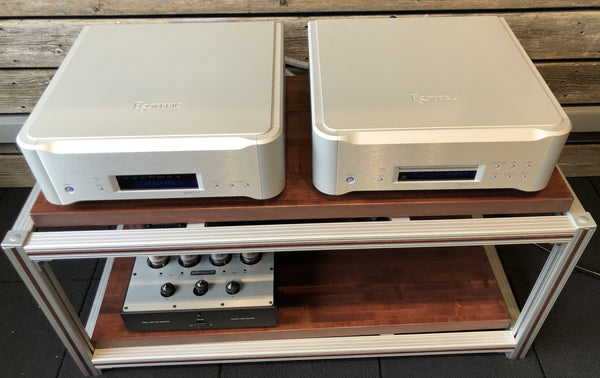 Esoteric P-02 SACD/CD Transport and D-02 DAC - Flagship Combination - 100/120/230V
