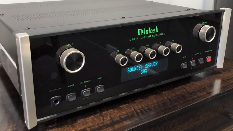 McIntosh C48 Preamp with DAC - Complete Package