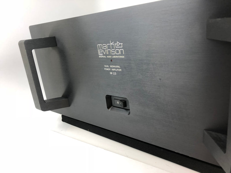 Mark Levinson No.23 Dual Monaural Solid State Amplifier
