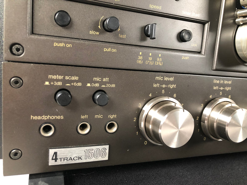 Technics RS-1506US Reel to Reel Recorder - 2/4 Track - Fully Calibrated and Tested