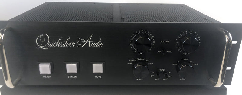 Quicksilver Audio Tube Preamp with Built In Phono Stage - RARE and MINT