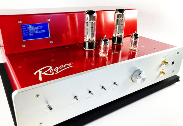 Rogers High Fidelity 65V-2 Integrated Amplifier - EL34 Tube Magic!