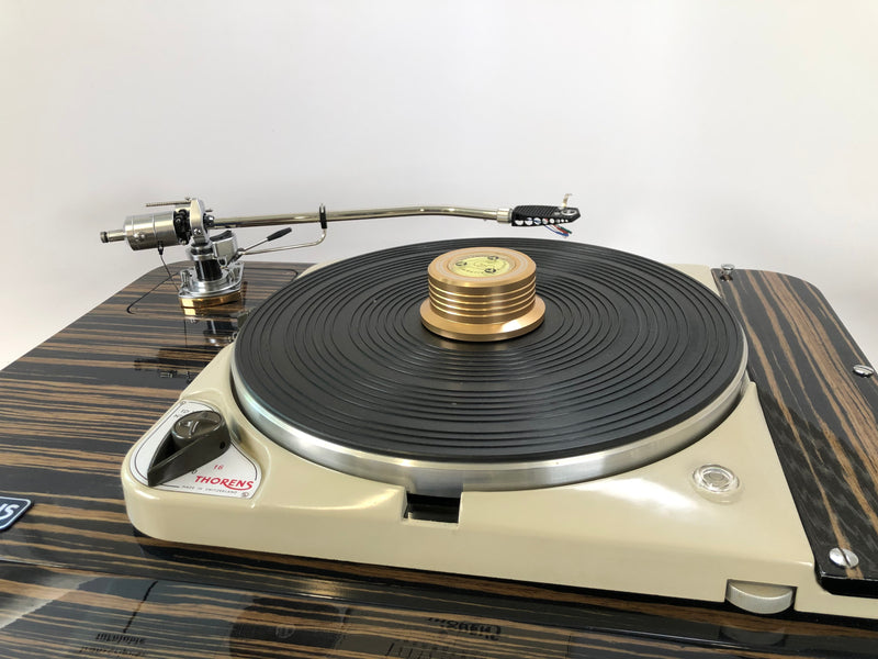 Custom Thorens TD-124 for Sean, No Tonearm