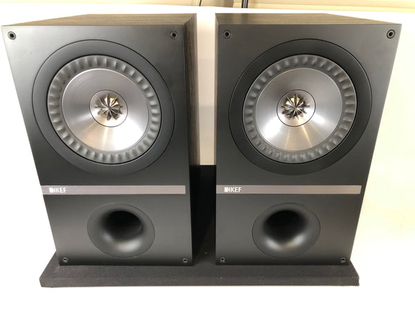 KEF Q300 Coaxial Bookshelf Speakers, Like New