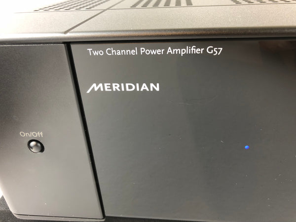 Meridan G57 200W Solid State Amplifier, Complete and Like New