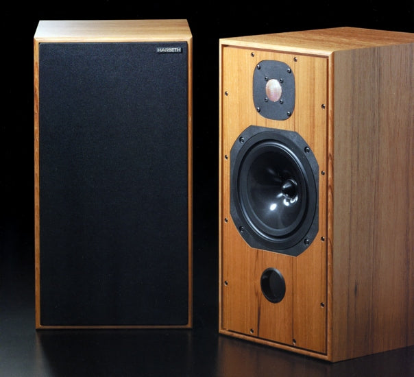 Harbeth HL Compact 7ES-2 Speakers in a Gorgeous Eucalyptus Finish