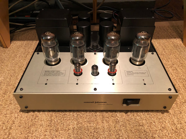 Conrad-Johnson Premier Twelve Tube Monoblock Amplifiers, with C1 Teflon Upgrade and KT120's
