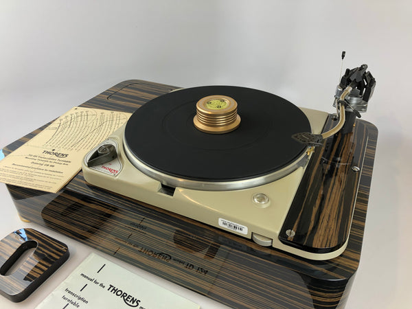 Thorens TD-124 Custom Turntable with SME3009 Improved Tonearm