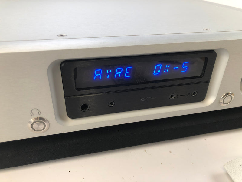 Ayre QX-5 Twenty Streaming DAC with Ethernet Bridge - Like New and Complete