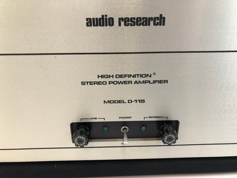 Audio Research D-115 Classic Tube Power Amp (B)