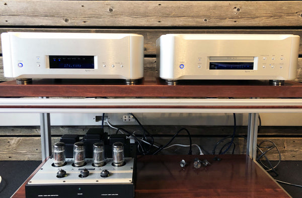 Esoteric P-02 CD/SACD Transport and D-02 DAC - Flagship Combination