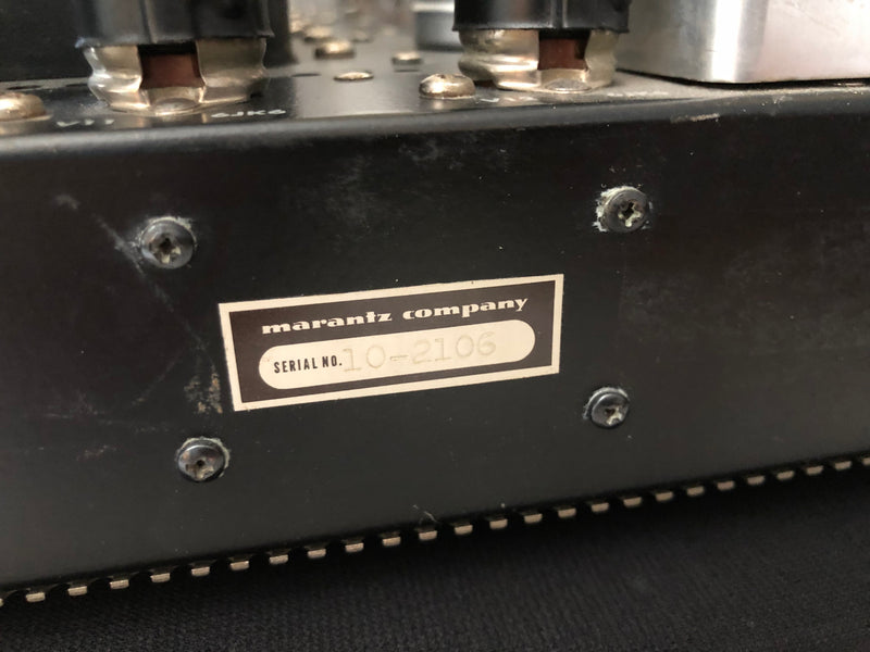 Marantz 10B Vintage Analog Tube Tuner, Top 3 Tuners Ever Made, Highly Collectable, See Video