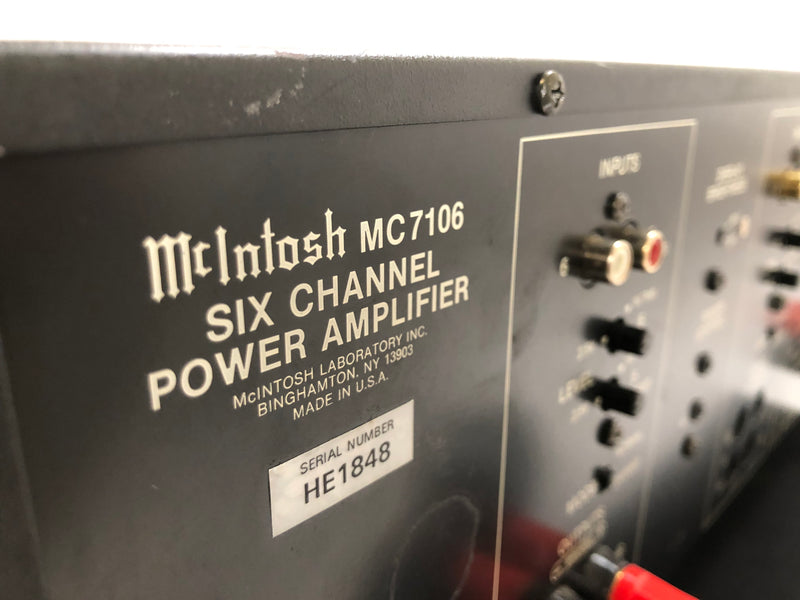 McIntosh MC7106, Modified *4* Channel Solid State Amplifier