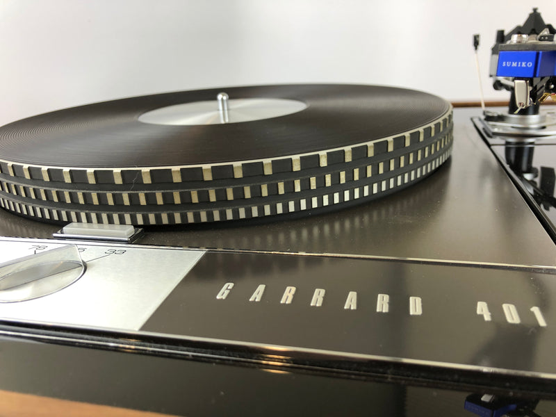 Garrard 401 Custom Vintage Turntable with SME 3009 Improved and New Sumiko Cartridge