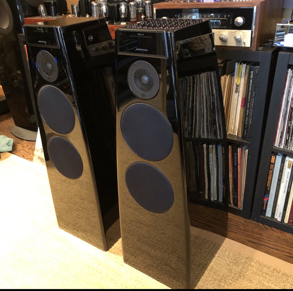 Meridian Special Edition DSP5200 Digital Active Speakers in Original Boxes