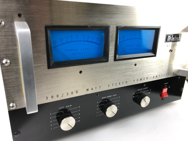 McIntosh MC-2300, 300W Classic Solid State Stereo Amplifier, Perfectly Restored