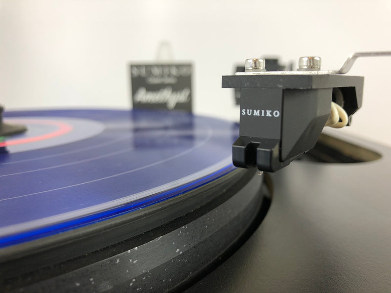 Sota Sapphire Turntable with Vacuum Platter and New Sumiko Amethyst Cartridge