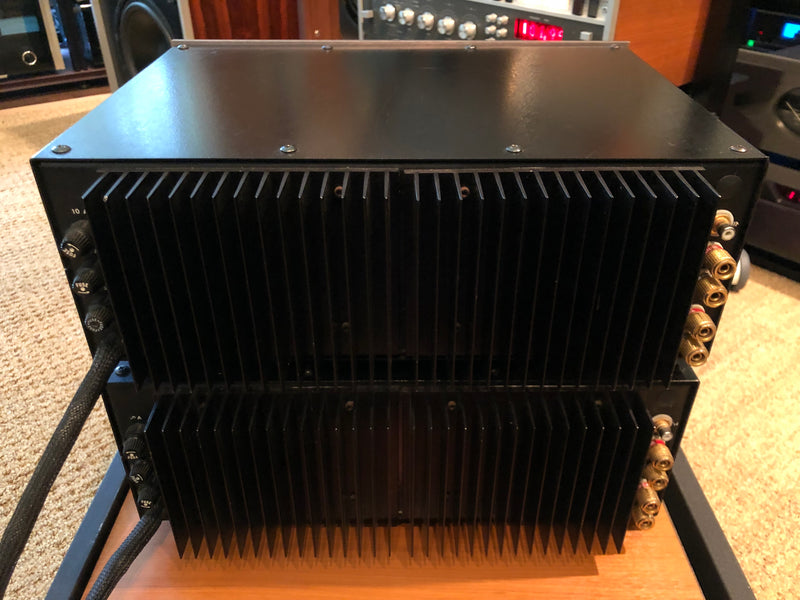 Acoustic Electronics Photon 6000 Monoblock Amplifiers - Super Rare and Powerful