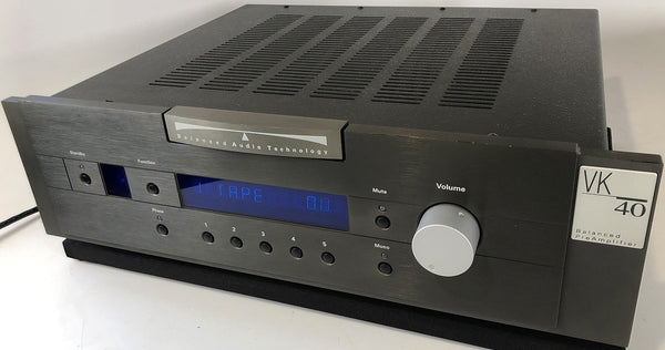 BAT (Balanced Audio Technology) VK-40 Solid State Preamp with Optional Phono Card and Remote