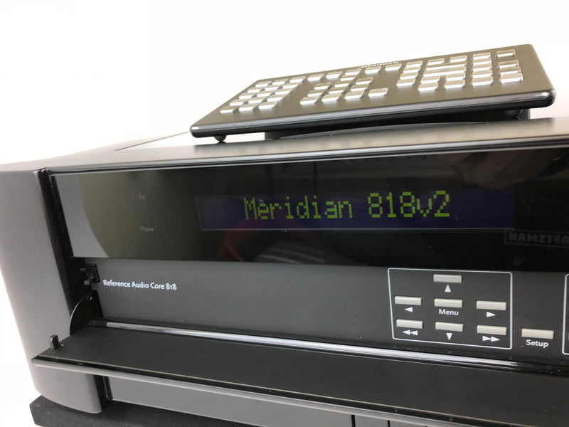 Meridian 818v2 Modular Preamp, Reference Audio Core, Mint Condition and Complete