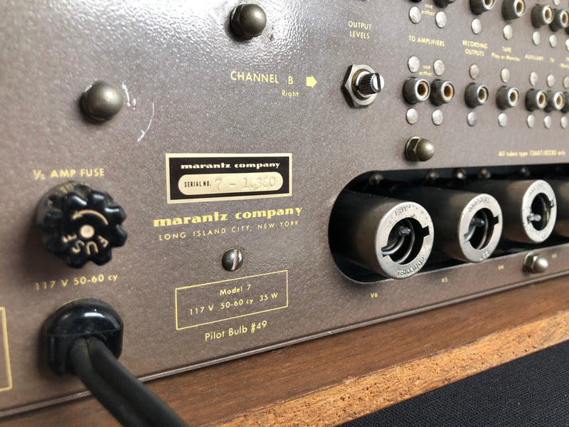 Marantz Model 7 Vintage Tube Preamp - SUPER Collectible