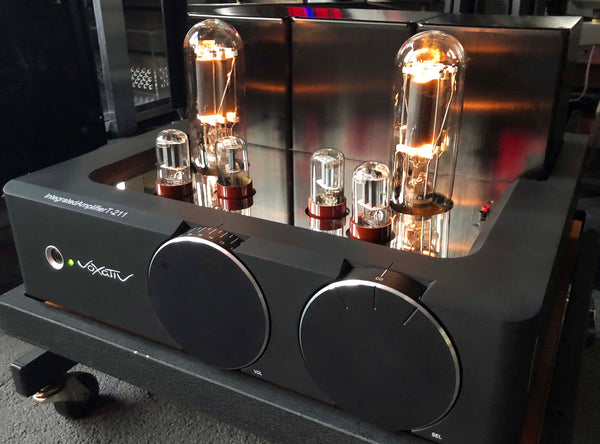 Voxativ T-211 Integrated with RCA Vintage Tubes
