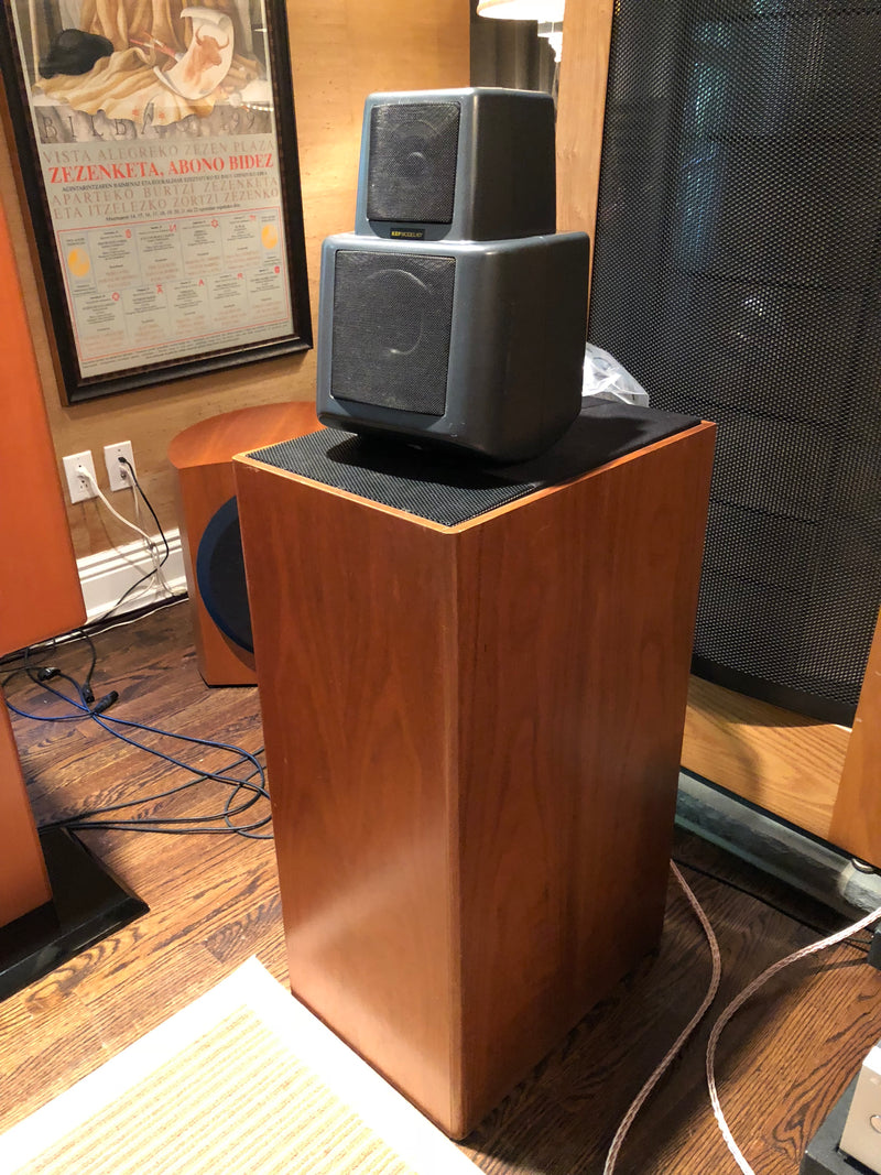 KEF Reference Series Model 107 Vintage Speakers, Fully Restored
