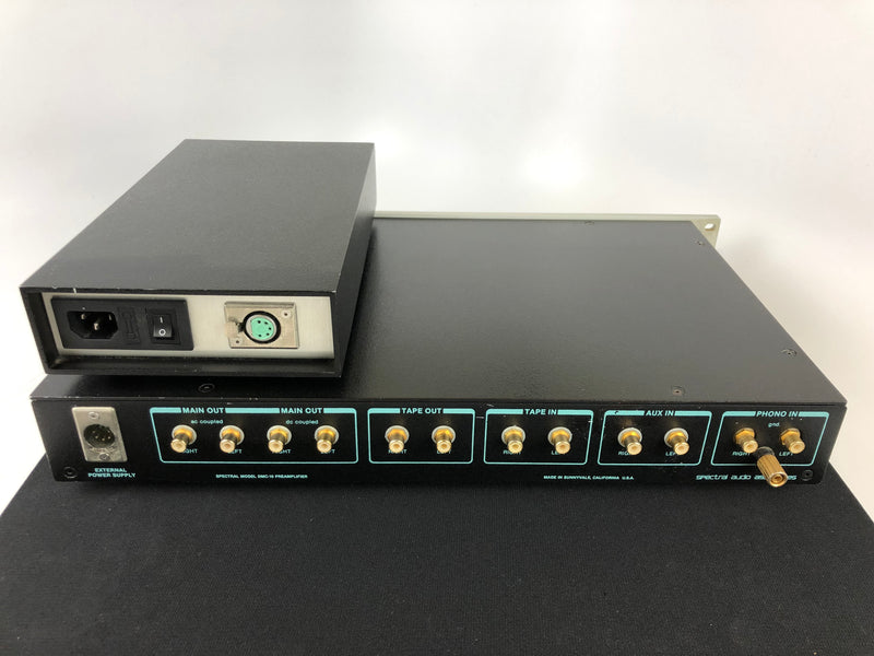 Spectral DMC-10 Gamma Preamp with Phono Input