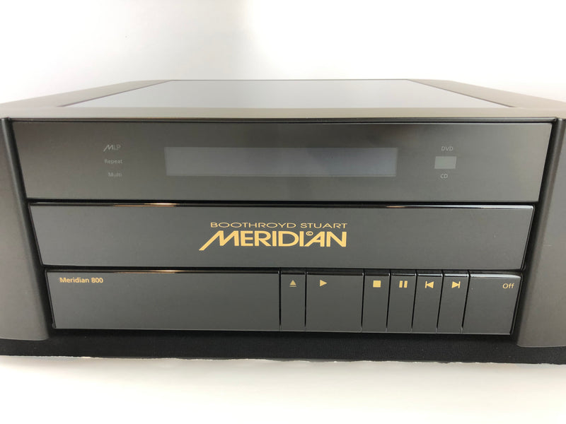 Meridian 800 Reference DVD/CD Player with HDMI, Version V4 (Upgraded)