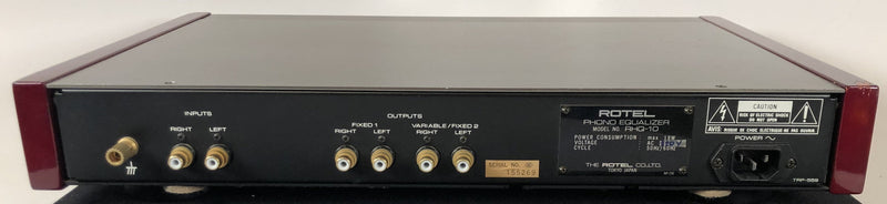Rotel RHQ-10 Phono Preamp - The Best from Rotel - Very RARE