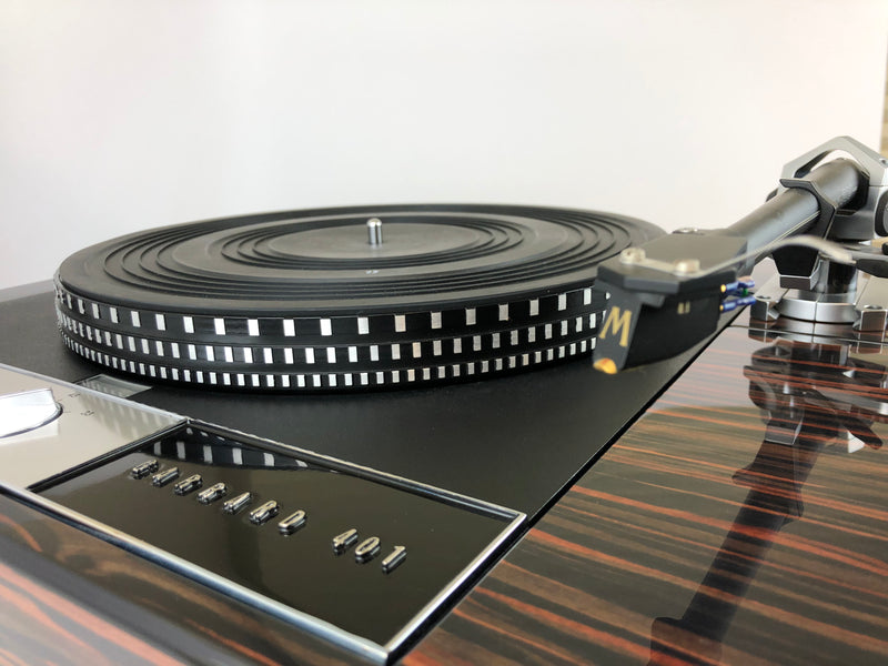 Garrard 401 Turntable with Custom Palisander Plinth and SME-309 Tonearm