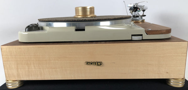 Thorens TD-124 with Thorens Plinth and Restored SME3009, Completely Customizable